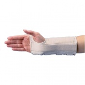 Rolyan Firm D-Ring Carpal Tunnel Syndrome Wrist Brace